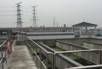 河南漯河集水槽项目规模为6 万吨/日